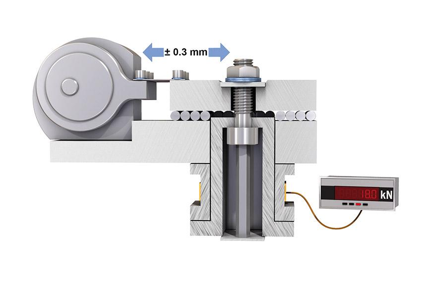 Nord-Lock®螺纹锁紧系统——按照DIN 65 151进行容克振动试验——设置