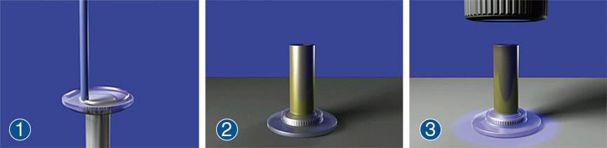 ONSERT®粘接过程——涂胶、连接、固化