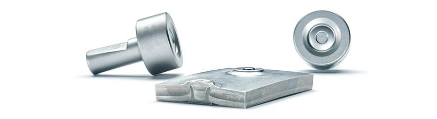 RIVSET®环形凹槽底模——通过新环形凹槽底模连接铝铸件